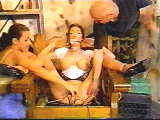 bdsm Viral load brutal electro and some lesbian torture