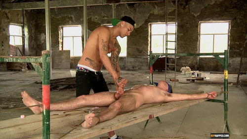 Gay BDSM Johnny Gets Drained Dry