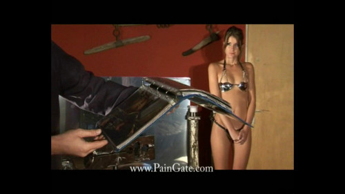 BDSM Whipping bed from Top gate