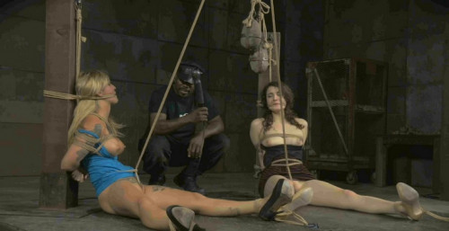 bdsm Blonde and a Brunette in Double Trouble