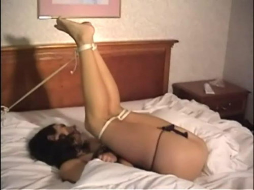 bdsm Bound Enema Training Amateur