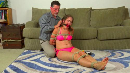 BDSM rachel bikini boobs