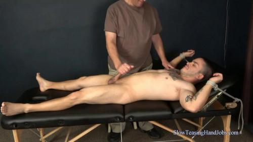Gay BDSM Little Muscle Man Edged