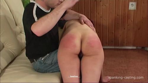 BDSM Spanking-Casting - Viola - Hard Hand Spanking To Tears