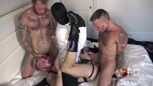 Gay BDSM Raw Fuck Club Leave That Ass Leaking