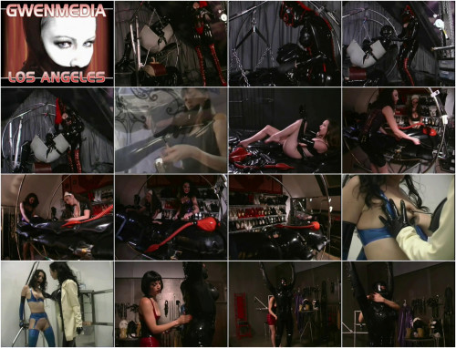 BDSM Latex Heavy Rubber - features scenes