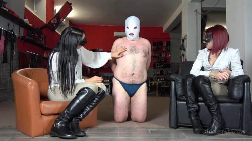 Femdom and Strapon Mistress Gaia - Bootlicious