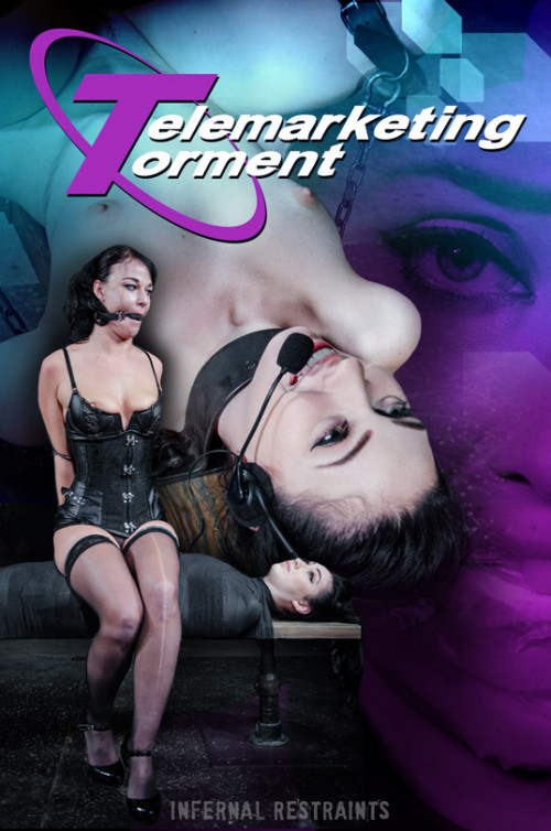 bdsm Aria Alexander, London River - Telemarketing Torment (2016)