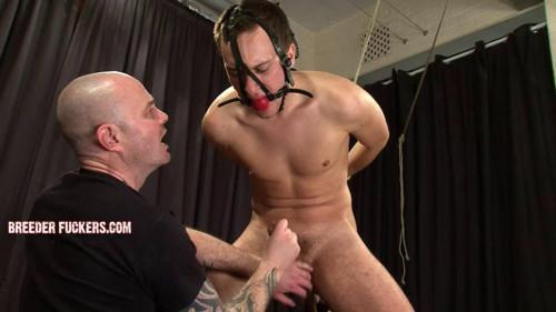 Gay BDSM Sergei - Bound and gagged naked