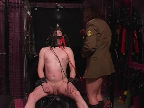 Femdom and Strapon Latex Rubber - Banged Session - Domination HD