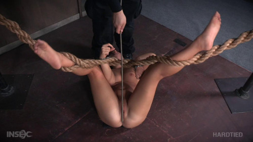 bdsm Hard Bondage For Teen Babe