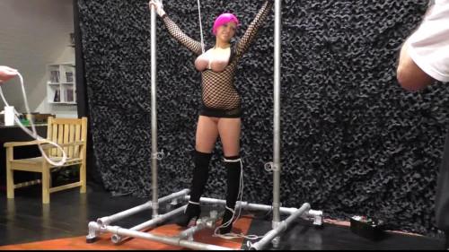 BDSM Breast Predicament for Nova Pink - HD 720p