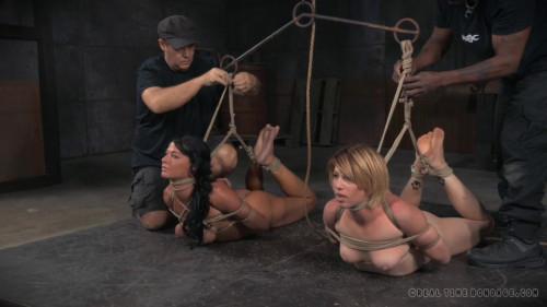 BDSM Rope Bondage For Cunty Slaves
