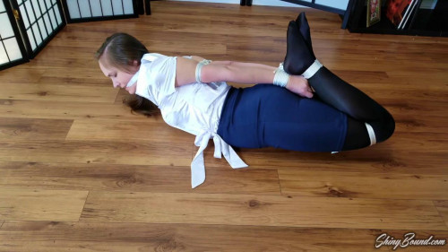 BDSM Rachel Adams Wrists to Ankles