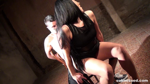 Femdom and Strapon Clair Brooks part 008