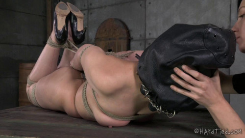 bdsm Horny Submissive Colette Rouge Gets the Rough Rope Handling of a Lifetime From Elise Graves.