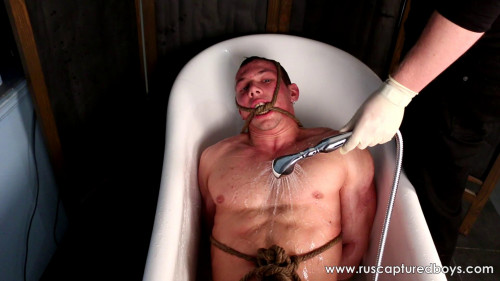 Gay BDSM Submissive slave Yaroslav - Final Part