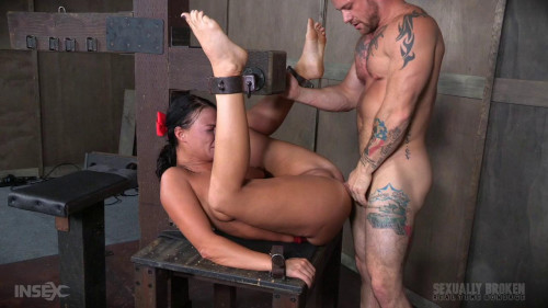 bdsm London River Cant Stop Cumming When Bound with Rough Anal Sex (2016)