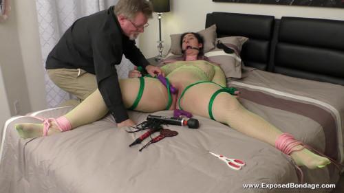 BDSM Exposedbondage - Dani sorrento bond to creeps