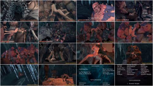 3D Porno The Borders Of The Tomb Raider