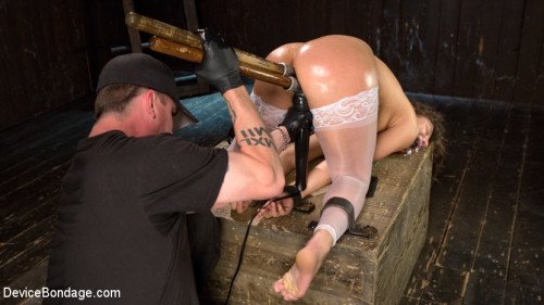 bdsm Young Pain Slut Devastated in Grueling Bondage, Tormented, and Cumming