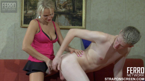Femdom and Strapon Strapon Screen part 1