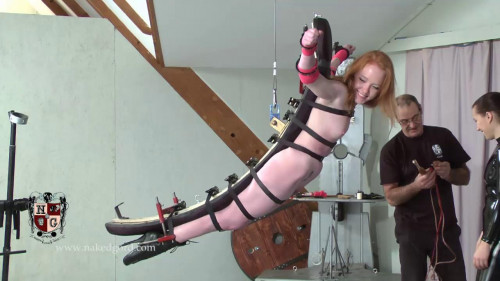 BDSM Latex Yet Another Crucifixion