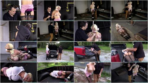 BDSM Summer Transported and Hogtied