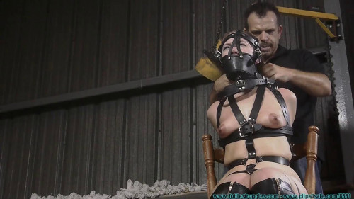 BDSM Tight Leather Bondage