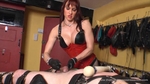 Femdom and Strapon Spare The Rod Spoil The Slave Finale