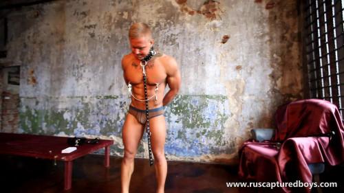 Gay BDSM RusCapturedBoys - Slave Vasily - Returned to Correct - II