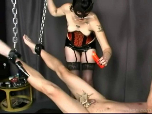 Femdom and Strapon Interrogation - LE