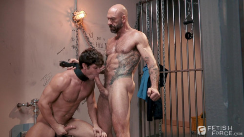 Gay BDSM Fetish Force - Submission Prison Scene 3