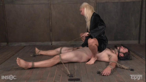 Femdom and Strapon London River - Punished