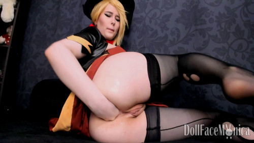 Fisting and Dildo Overwatch Mercy