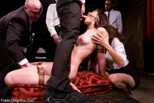 BDSM Classic archive shoot: member favorite! bobbi starr disgraced in the armory