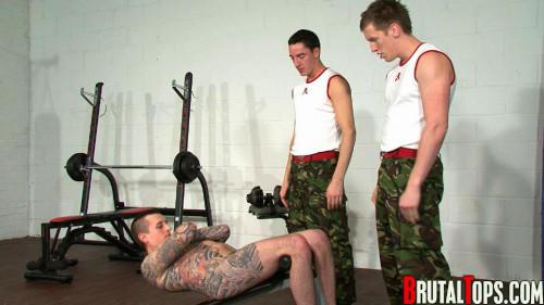 Gay BDSM 22 Pain & Reward Army Fuckers