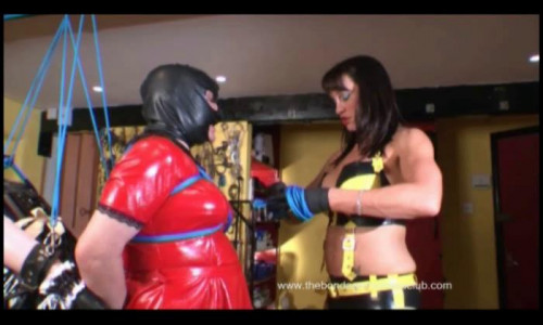 Femdom and Strapon Polly meets Broomhilda part 2-3