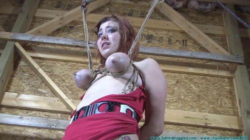 BDSM Barnyard Bondage for Riley - Her Ordeal Continues - Scene 2 - HD 720p