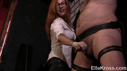 Femdom and Strapon Controlling My Slaves Orgasm by Edging (2017)