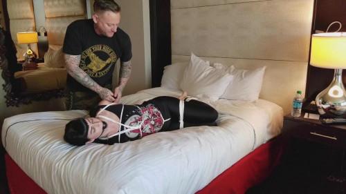BDSM Real Time Bondage part 1-rope bondage videos