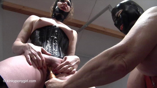 BDSM Latex HD Bdsm Sex Videos Pony Play vol.1