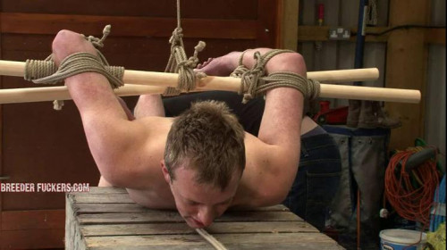 Gay BDSM Ed - Stripped in the back of a car