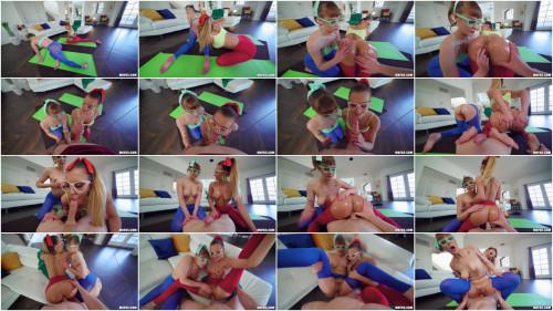 Threesome Ella Reese, Sailor Luna - Yoga Sexercise Session FullHD 1080p
