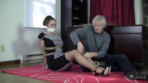 BDSM Pepper Sterling : Extreme High Heel Training and Tight Bondage