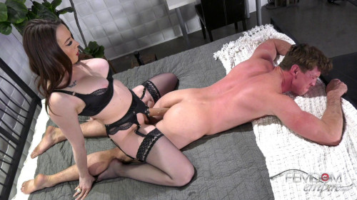Femdom and Strapon Chanel Preston - Ass Breaker