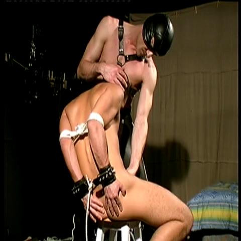 Gay BDSM Young Slaves Enjoy Virgin Pain