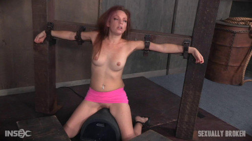 bdsm Kassondra Raine - Face Fucked, Vibrated on Sybian, and Made to Cum (2016)