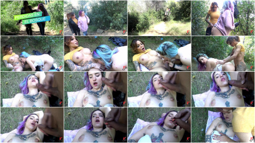 Transsexual Losses In The Forest - Vanessa Jhons