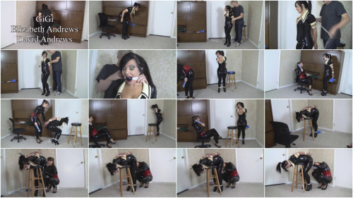 BDSM Latex Bdsm Most Popular Vibrated Maid Gets Her Bonus